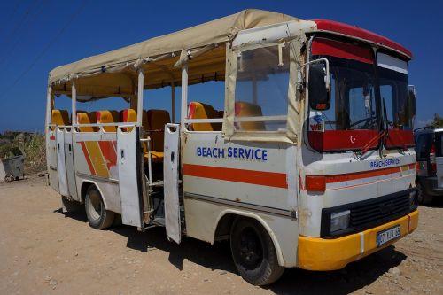 bus beach service