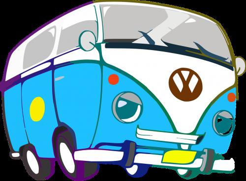 bus cartoon transporter