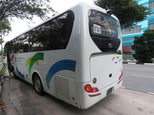 bus bus stop singapore