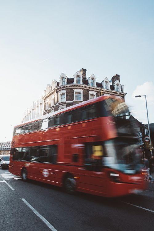 bus transportation vehicle