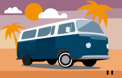bus transporter volkswagen
