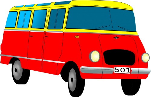 bus van automobile
