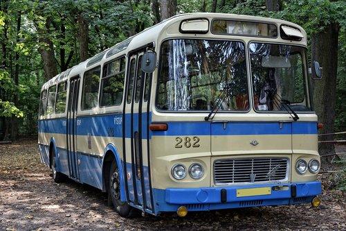 bus  retro  old