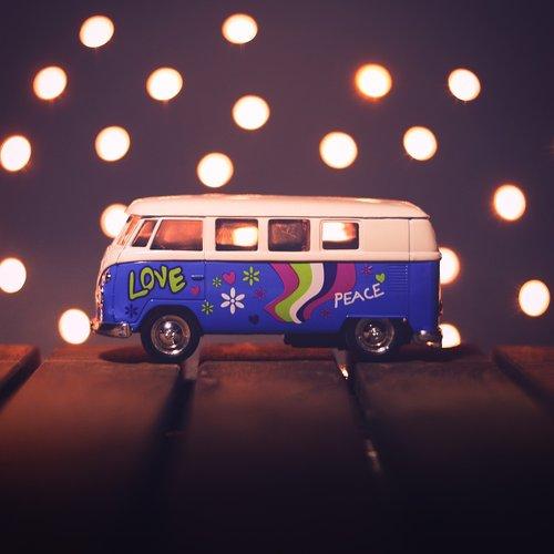 bus  bulli  hippie