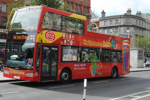 bus tourist visit