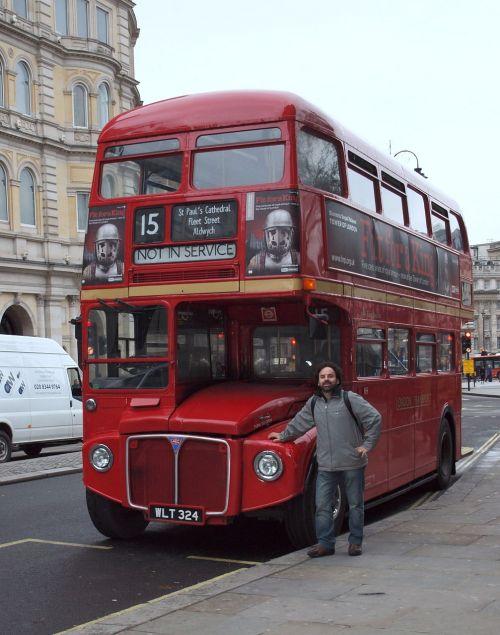 bus london double decker bus