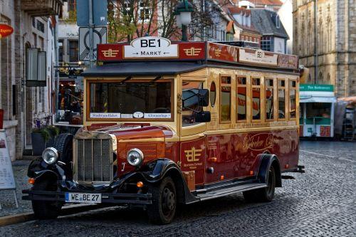 bus old auto
