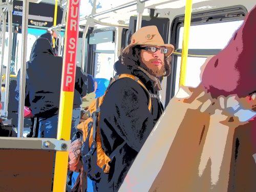 bus stranger bag