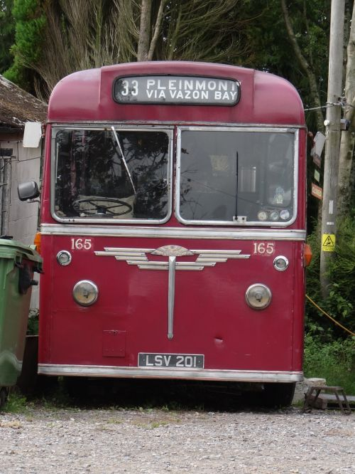 bus oldtimer old