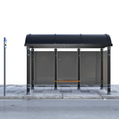 bus stop isolated wait