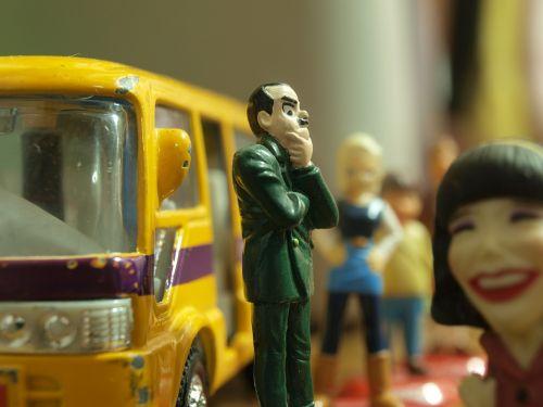 bus stop bus waiting