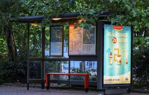 bus stop  public  transportation