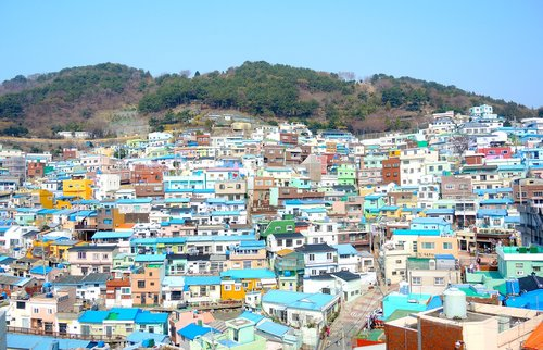 busan  gamcheon culture village  korea national
