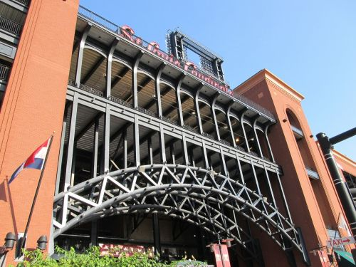 busch stadium baseball ball park