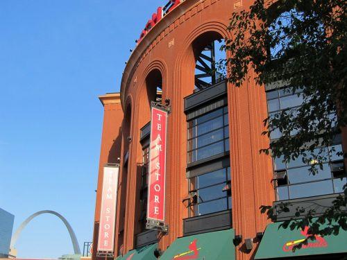 busch stadium baseball gateway arch