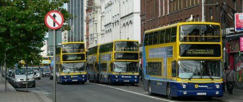 buses transport wheels