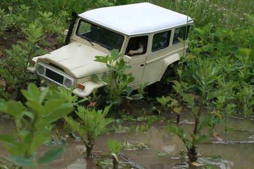 bush taxi  toyota  sacle crawler