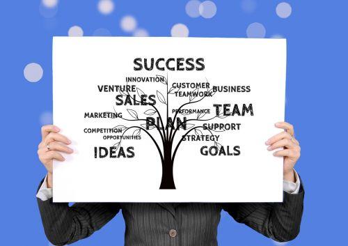 business businesswoman success
