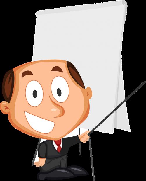 business cartoon comic characters