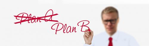 business businessman plan a