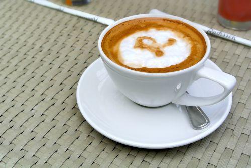 business cappuccino coffee