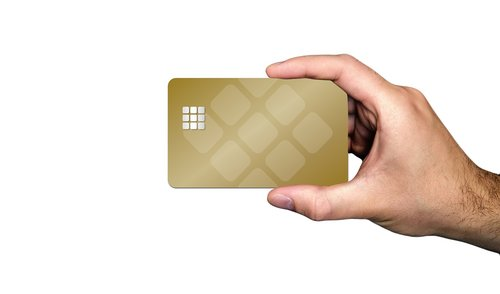 business  businessman  chip card