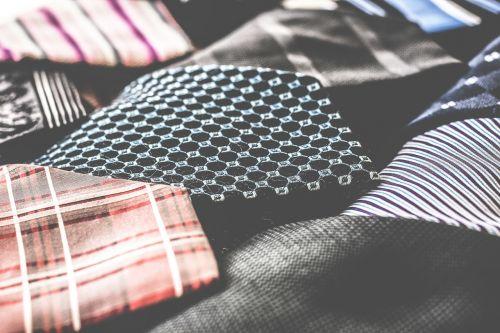 business attire tie fabric