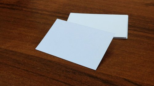 business card  paper  card