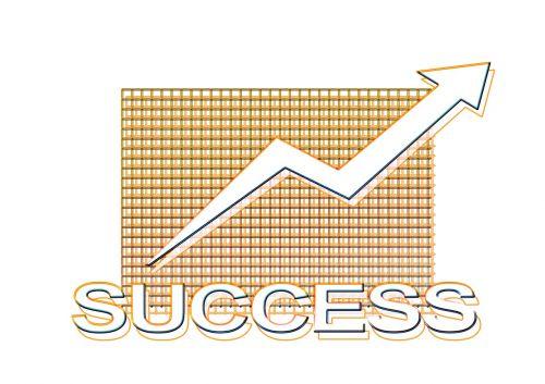 business idea success arrow