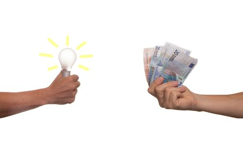 business idea  investment  bulb