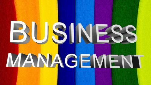 business management cover page business