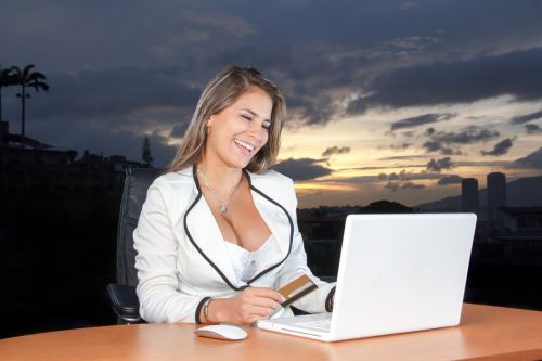 business woman woman attractive