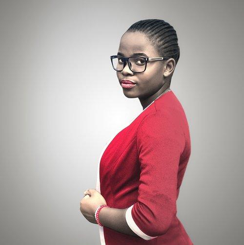 business woman  black woman  african woman
