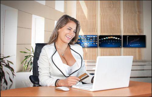 business women pretty female
