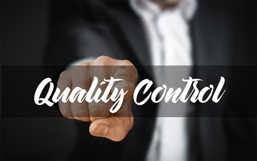 businessman  control  quality control