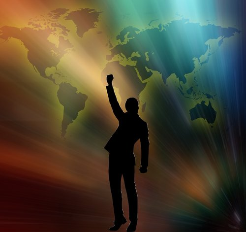 businessman  business  worldwide