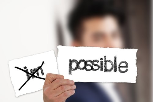 businessman  possible  impossible