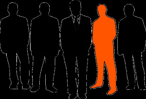 businessmen leader group