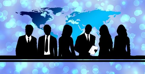businessmen team group