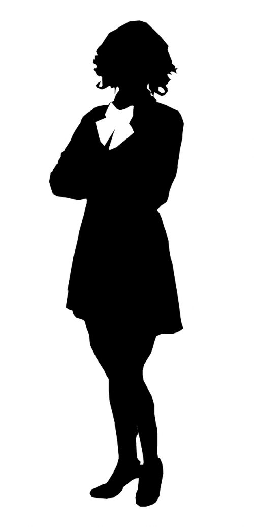 businesswoman silhouette people silhouettes