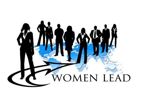 businesswoman team leader woman