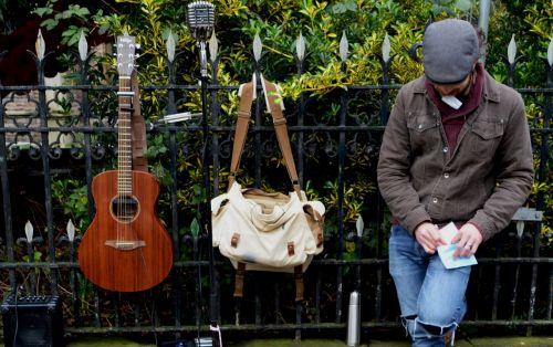 busker musician music