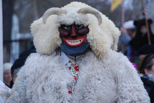 buso, busojaras, vengrija, mohacs, tradicija, tradicinis, kostiumas, velnias, žiema, vasaris, karnavalas, kaukė, baugus, Buso vyras