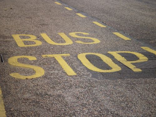 busstop bus stop