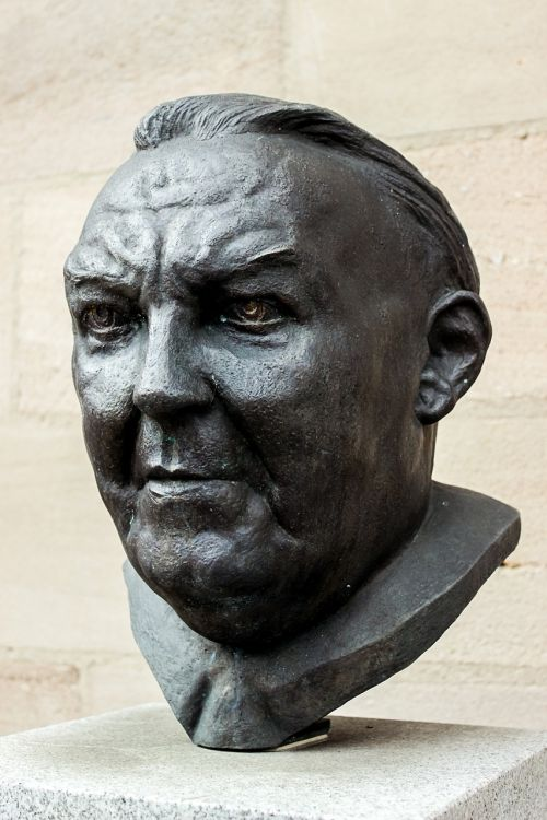 bust chancellor sculpture