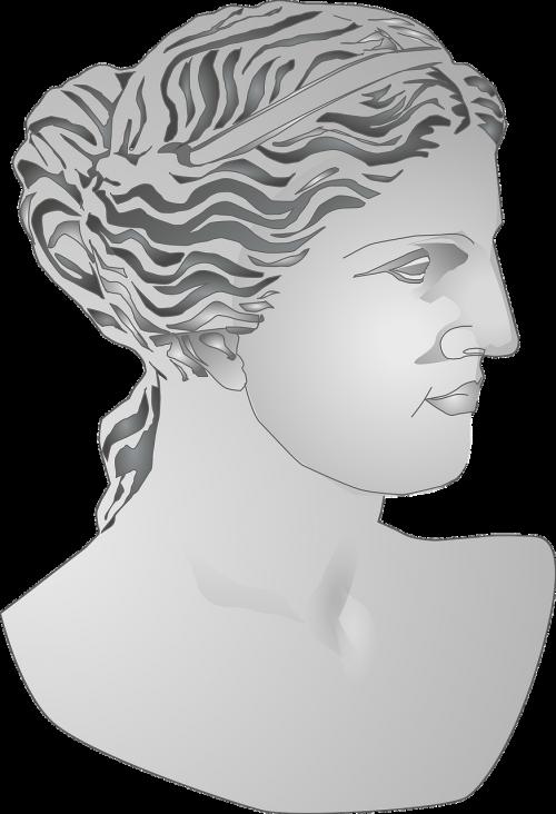 bust roman statue