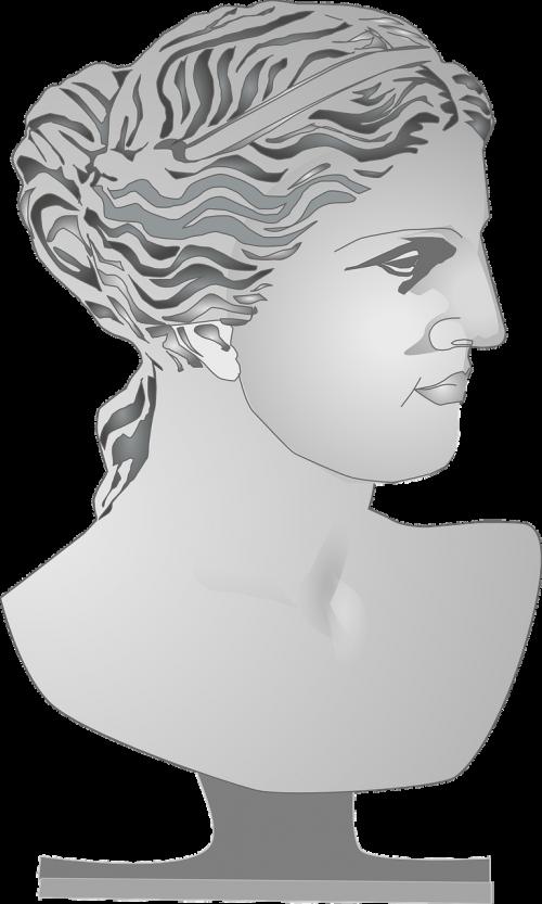 bust sculpture female