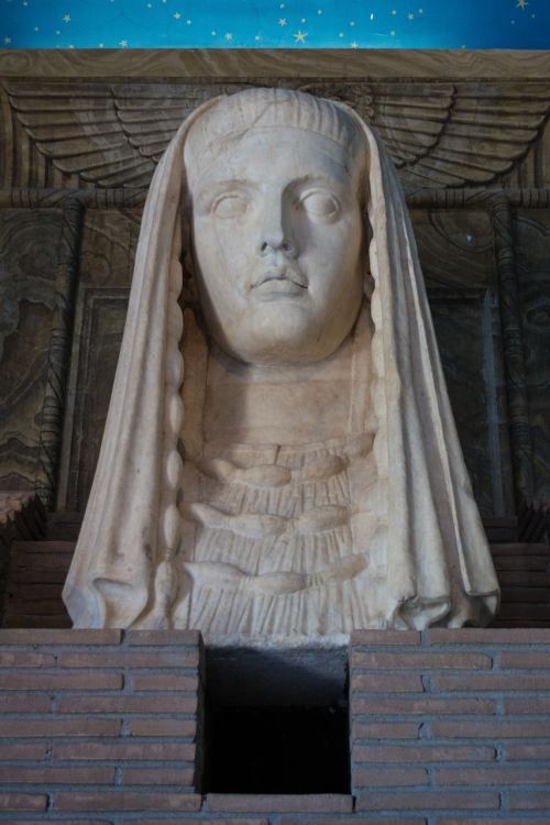 bust museum the vatican