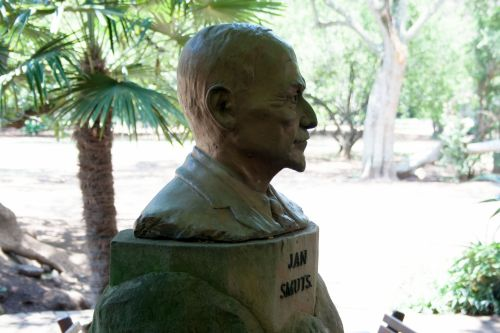 Bust Of General Jan Smuts