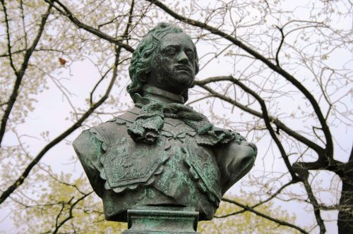 Bust Of Tsar Peter The Great